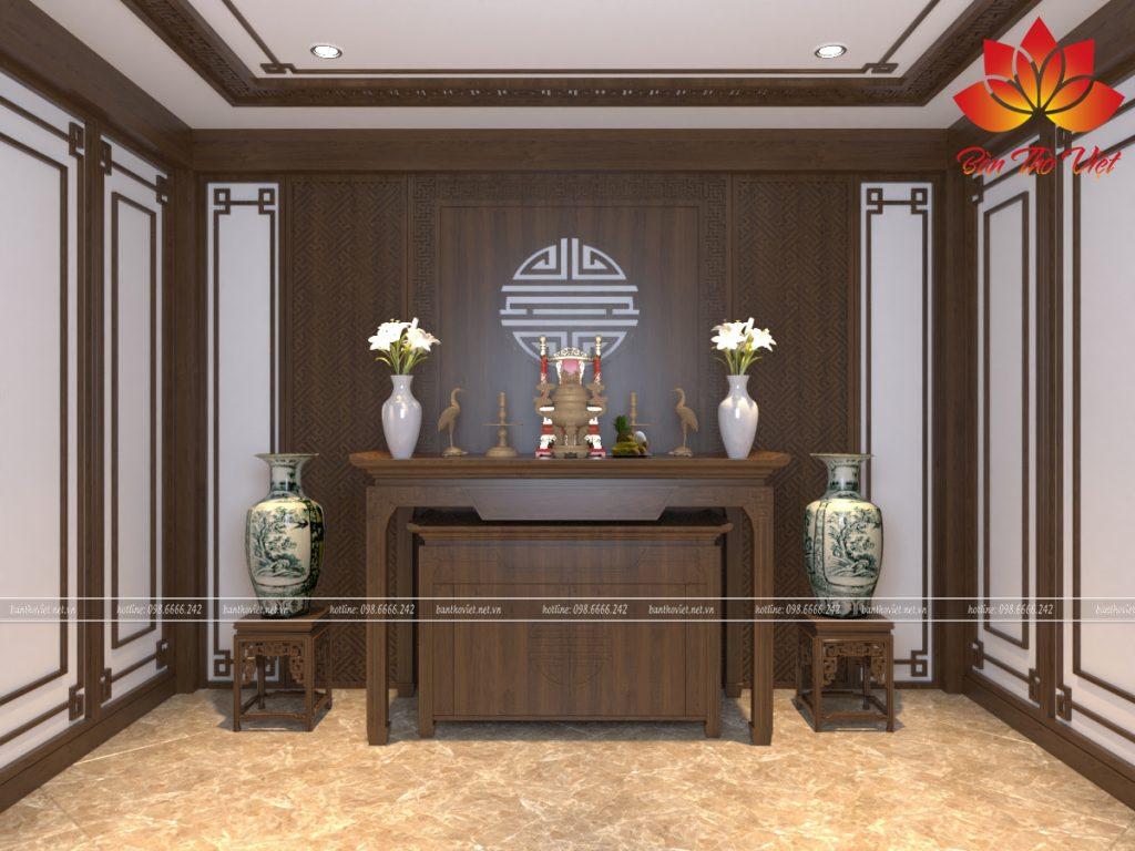 Nội Thất Bàn Thờ Việt - Địa chỉ chuyên Thiết kế phòng thờ gia đình